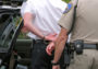 Drunk driver being arrested