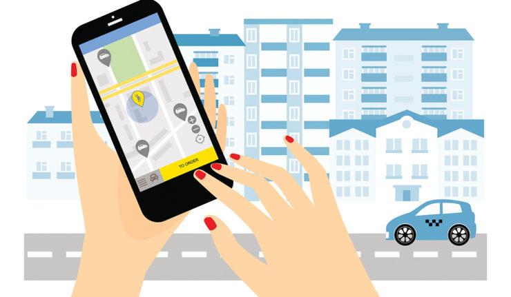 using a ridesharing app