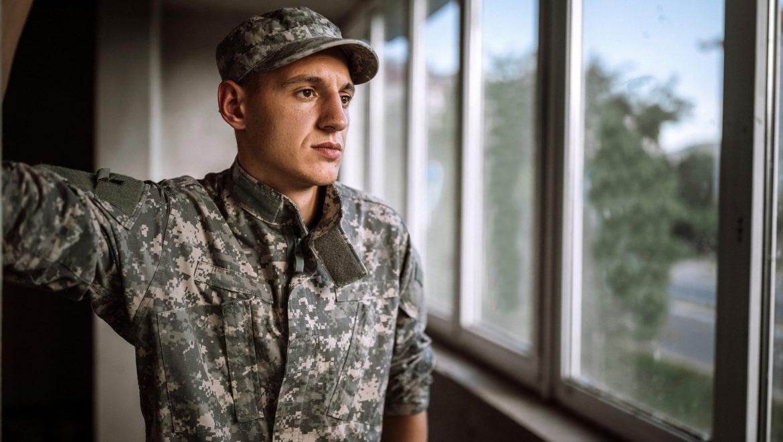 Veteran Military Man in Fatigues